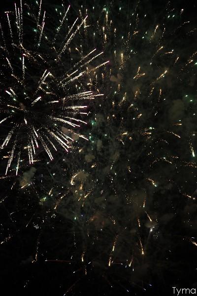 Feu d'artifice de la Fête 2012 de Lucé
