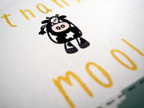Thank Moo (detail)
