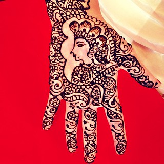 Mendhi night with the girls!
