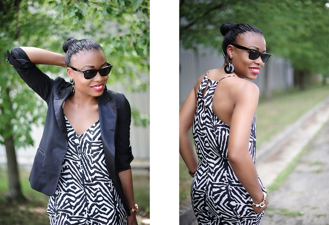 Zebra half by www.jadore-fashion