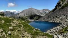 Cima Verosso e laghi Tschawina