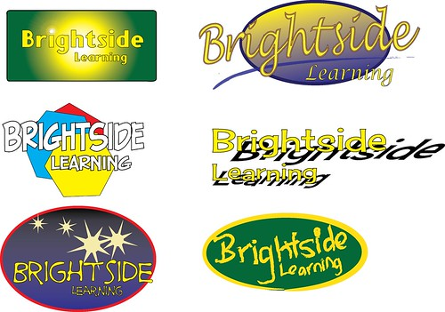 Wordmarks: Brightside Prototypes 1 by dwight_ew