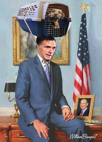 PORTRAIT OF MITT by Colonel Flick