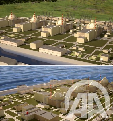 Akkuyu Nuclear Power Plant Photo of 3D Modelling