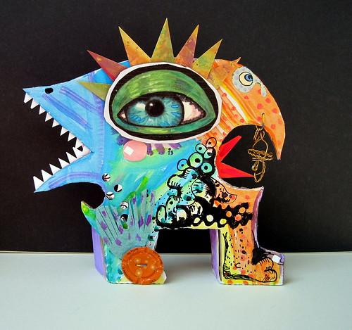 Paper Monster #6