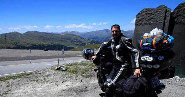 Velký okruh Evropou na motorce