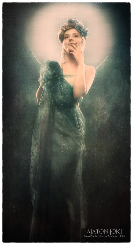 alphonse mucha concept photo shoot evening star moon