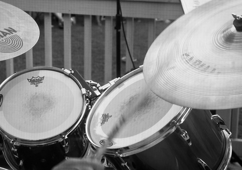 Drums BW