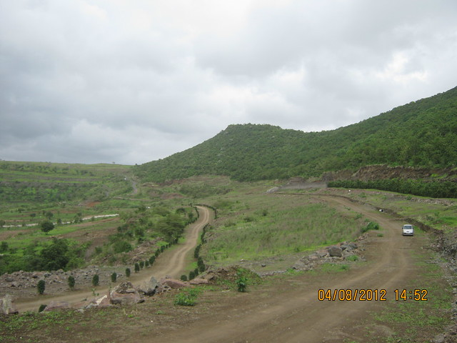 Cut, Demolished & Destroyed Hill of XRBIA Hinjewadi Pune - Nere Dattawadi, on Marunji Road, approx 7 kms from KPIT Cummins at Hinjewadi IT Park - 96