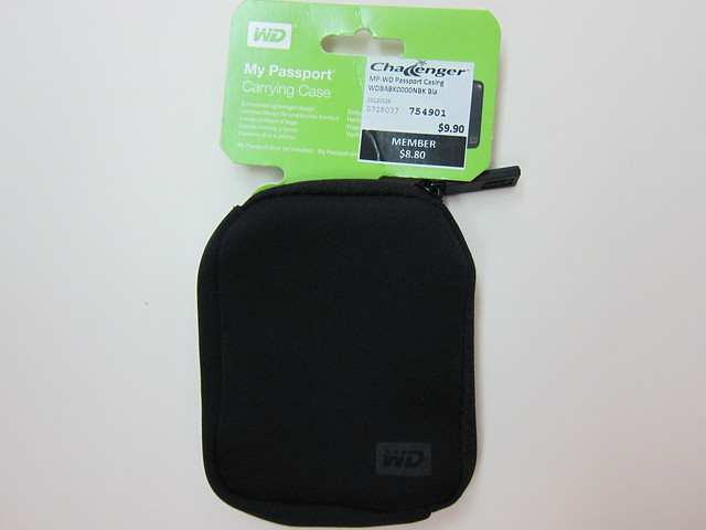 Western Digital My Passport Carrying Case - Packaging Front