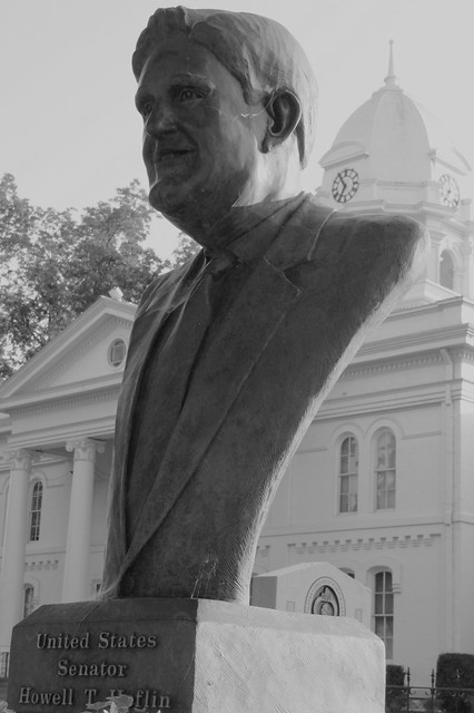 Bust of Senator Howell T. Heflin