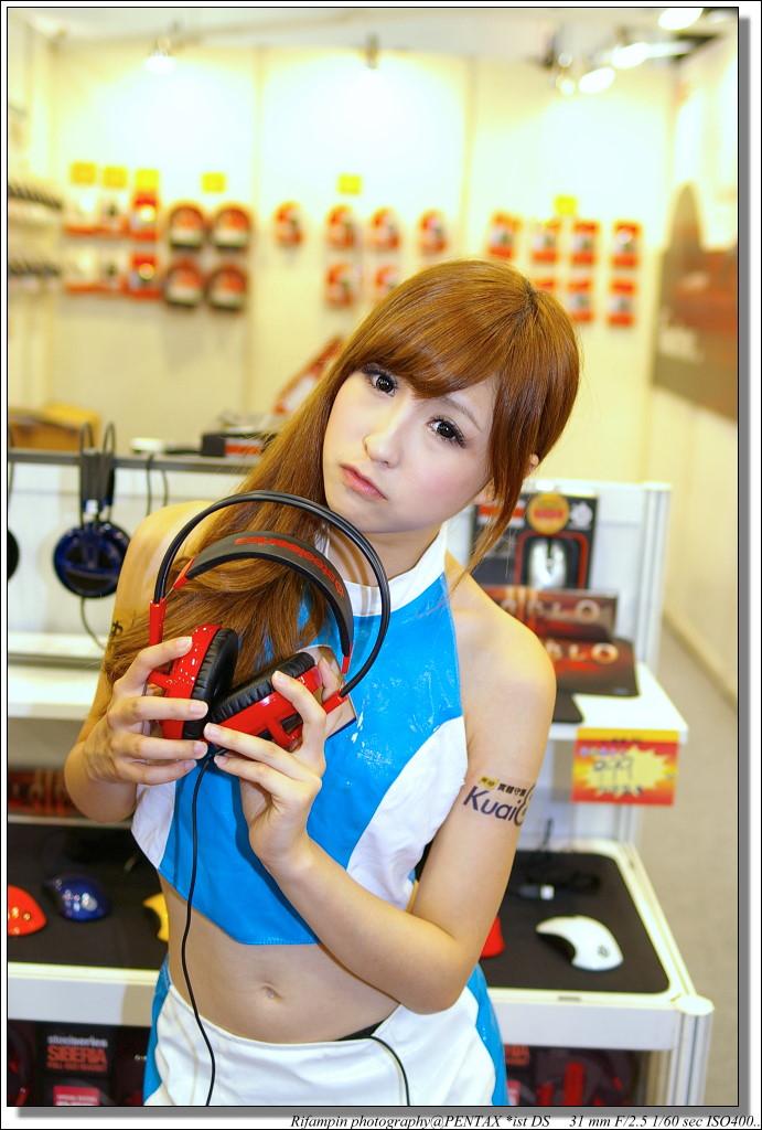 小公主睽違已久的台北世貿電腦展