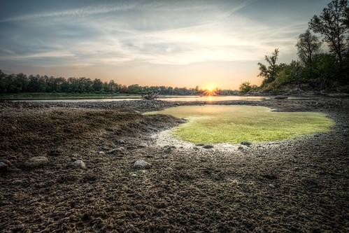 sunset poland warszawa wisła vistula zachódsłońca 5xp canon174040l 5dmk3 5dmark3 dąbrówkawiślana