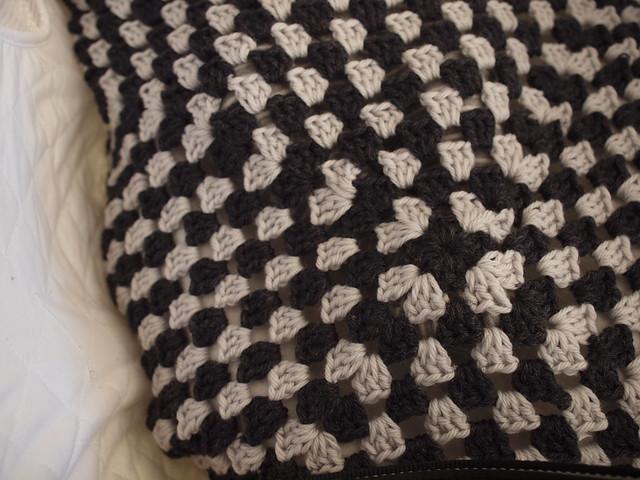 emerson's granny square blanket