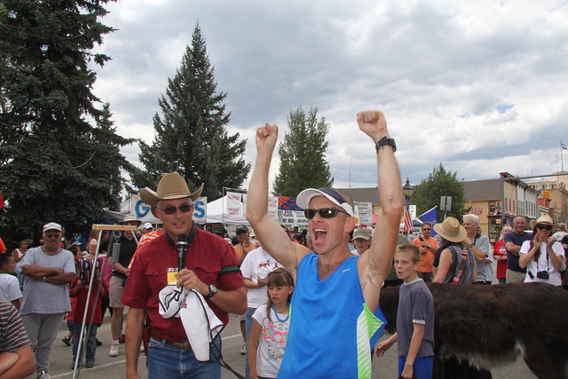 Leadville Boom Days Burro Race 2012