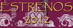 ESTRENOS SEMANA SANTA 2012