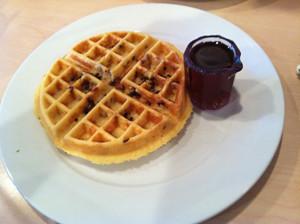 Walt's way waffle, Sun Garden Cafe, Siesta Key, Sarasota, FL