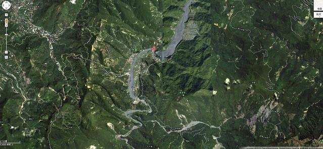 2011-12-24摩摩納爾步道google map