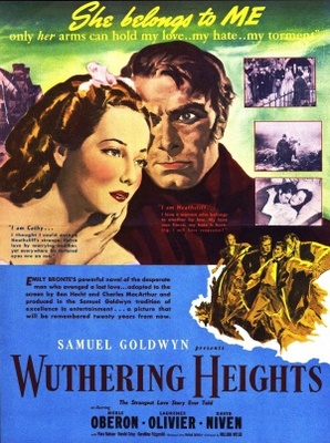 Wuthering Heights 1939 movie poster