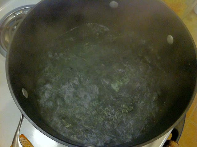 Pot of Boiling Pasta Water