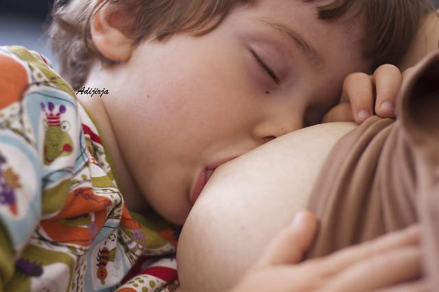 Para la Semana Mundial de la Lactancia Materna.