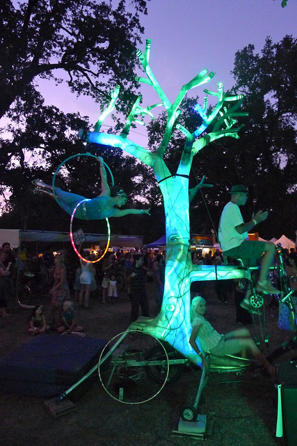 bike powered performance on el arbol