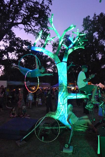 bike powered performance on el arbol