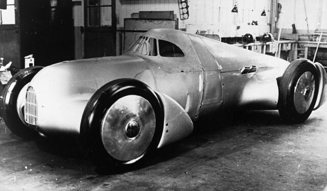 1935 Auto Union Rekordwagen Avus