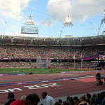 The Olympic Stadium on Super Saturday