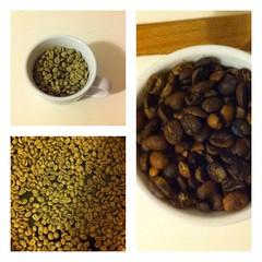 kaffee selbst ger stet meine erste pfannenr stung. Black Bedroom Furniture Sets. Home Design Ideas