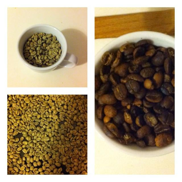 Kaffee, selbst geröstet