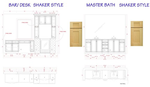 Butlers Pantry & Master Bath Cabinets Final