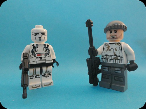 EU Commando and Standard Soldier