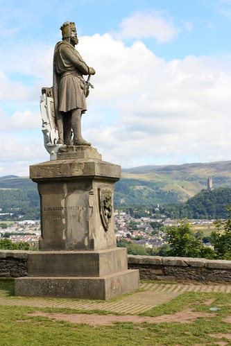 Rober the Bruce monument at Stirling Castle