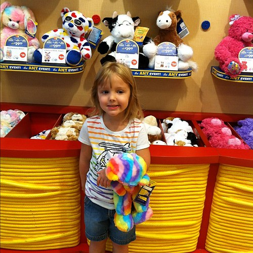 First stop today - Build A Bear