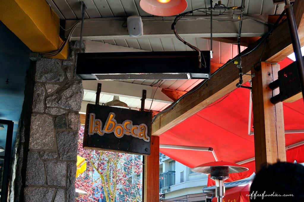 la bocca restaurant and bar, Whistler