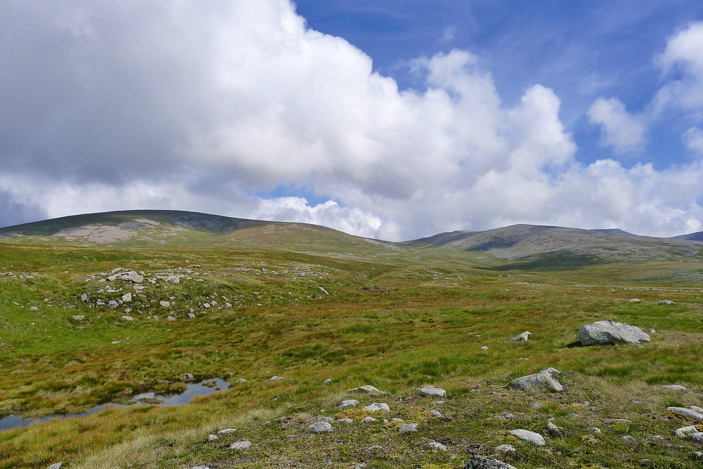 The Moine Mor and Cairngorms