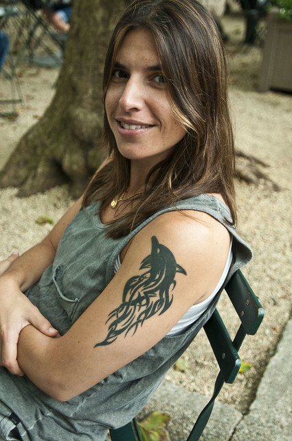 New York People - The Girl with the Dolphin Tattoo