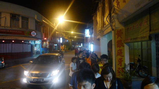 Malacca: Super Long Queue Capitol Satay Celup