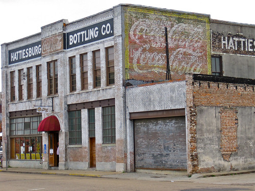 Hattiesburg Bottling Company, Hattiesburg, MS by Robby Virus