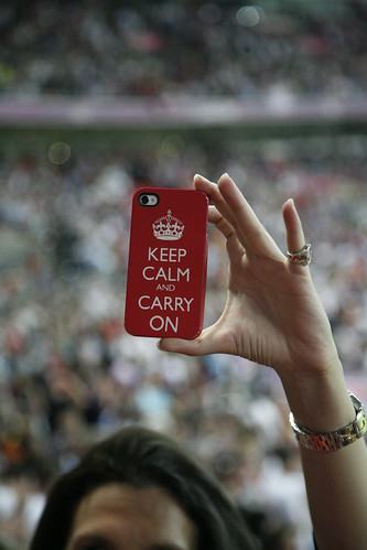 London 2012 - Keep calm and carry on