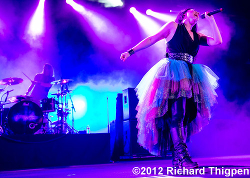 Evanescence - 08-08-12 - Carnival Of Madness Tour, Verizon Wireless Amphitheatre, Charlotte, NC