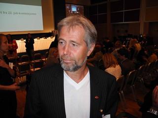 Arne Johannessen, leder i Politiets Fellesforbund