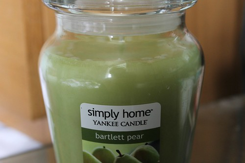Simply Home Yankee Candle - Bartlett Pear