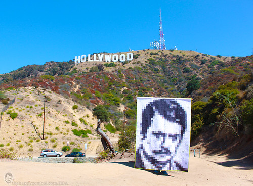 Ron Swanson quilt along - Hollywood Hills