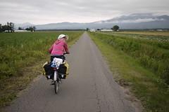 Quiet farm roads near Shari (Hokkaido, Japan)