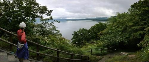 Nature walk around the Wakoto Peninsula (Lake Kusharo, Hokkaido, Japan)