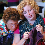 August 16, 2012 - 15:58 - Knitting - it's serious work!