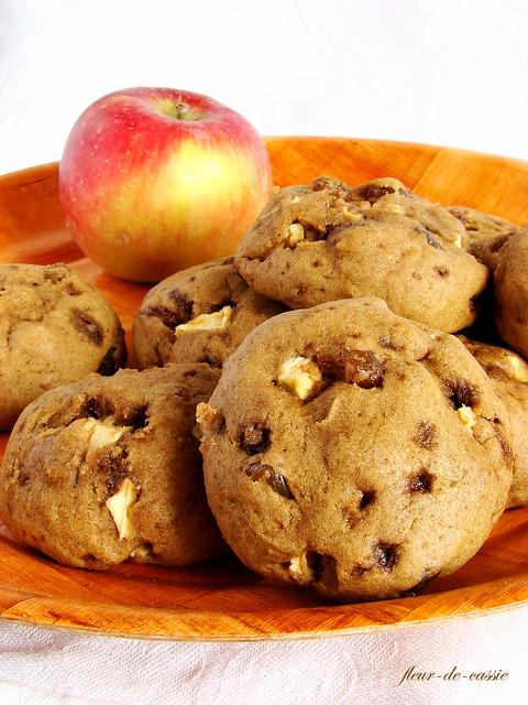 печенье яблочное с изюмом 2