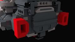 Space Marines Bulwark Gunship: Hatch Closed